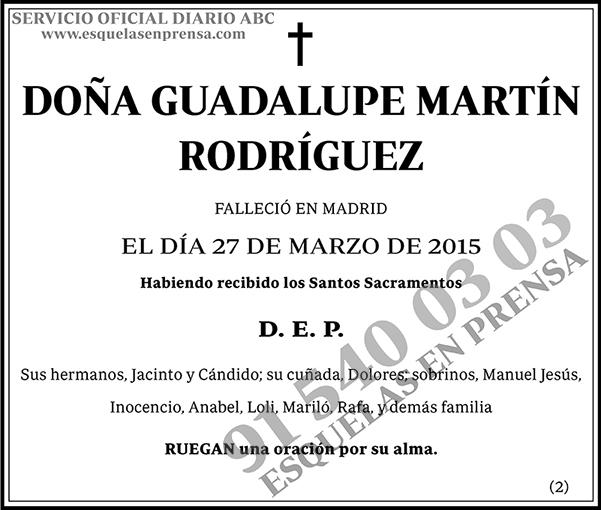 Guadalupe Martín Rodríguez